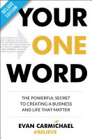 Your One Word Deluxe PDF