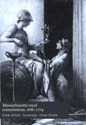Massachusetts Royal Commissions, 1681-1774