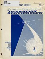 Program Projects from Operation Service Club PDF
