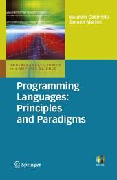 Programming Languages: Principles and Paradigms