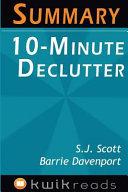 Summary - 10-minute Declutter