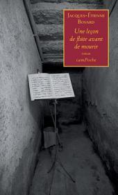 Une leçon de flûte avant de mourir: Un roman émouvant autour de la musique