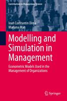 Modelling and Simulation in Management PDF