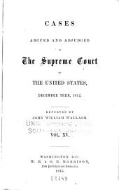 United States Reports: Cases Adjudged in the Supreme Court, Volume 82