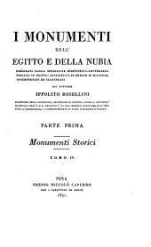 I monumenti dell'Egitto e della Nubia: disegnati dalla spedizione scientifico-letteraria toscana in Egitto : distribuiti in ordine di materie, Volume 4