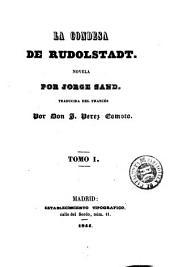 La Condesa de Rudolstadt: novela