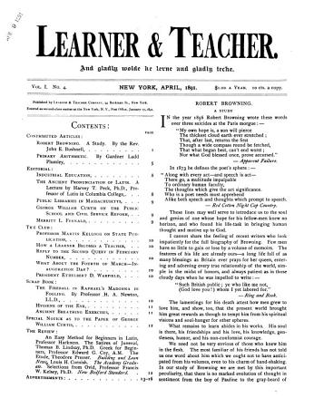 Learner   Teacher PDF