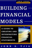 Building Financial Models PDF