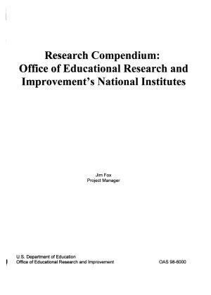 Research Compendium PDF
