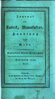 Journal f  r Fabrik  Manufaktur und Handlung PDF