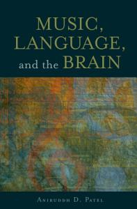Music  Language  and the Brain Book