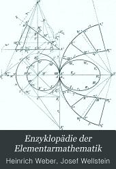 Enzyklopädie der Elementarmathematik: ein Handbuch für Lehrer und Studierende, Band 3