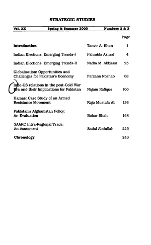 Strategic Studies PDF
