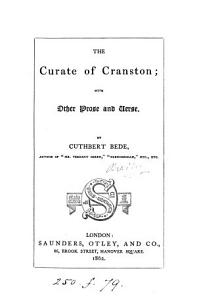 The Curate of Cranston Book