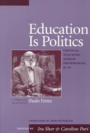 Education is Politics Book