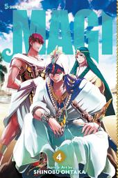 Magi: The Labyrinth of Magic, Vol. 4: The Labyrinth of Magic