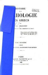 Histoire de la psychologie des Grecs: La psychologie des stoiciens, des épicuriens et des sceptiques