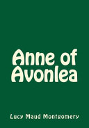Anne of Avonlea PDF