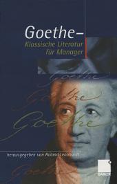 Geothe - Klassische Literatur für Manager