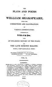 The plays and poems of William Shakspeare: Volume 10
