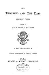 The Thousand and One Days: Persian Tales, Volume 2