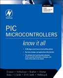 PIC Microcontrollers  Know It All Book
