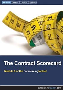 The Contract Scorecard Book