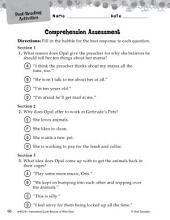 Because of Winn-Dixie Comprehension Assessment