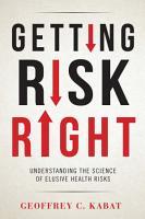 Getting Risk Right PDF