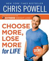 Chris Powell s Choose More  Lose More for Life PDF