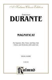 Magnificat: For SATB Solo, SATB Chorus/Choir and Orchestra with Latin Text (Vocal Score)