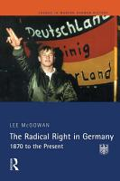 The Radical Right in Germany PDF