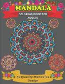 Mandala Coloring Book For Adults 50 Quality Mandalas Design PDF