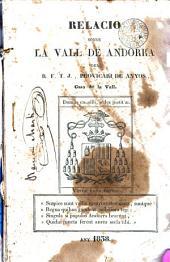 Relació sobre la Vall d'Andorra