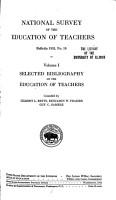 National Survey of the Education of Teachers PDF