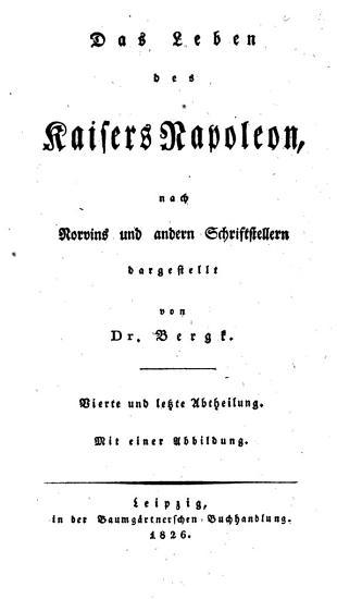 Das Leben des Kaisers Napoleon PDF