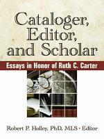 Cataloger  Editor  and Scholar PDF