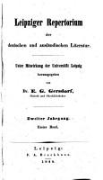 Leipziger repertorium der deutschen und ausl  ndischen literatur PDF