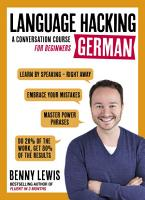LANGUAGE HACKING GERMAN  Learn How to Speak German   Right Away  PDF