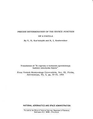 Precise Determination of the Source Function of a Facula PDF
