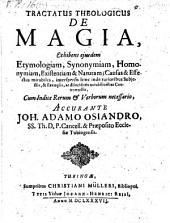 Tractatus theologicus de magia