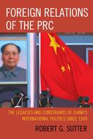 Foreign Relations of the PRC PDF