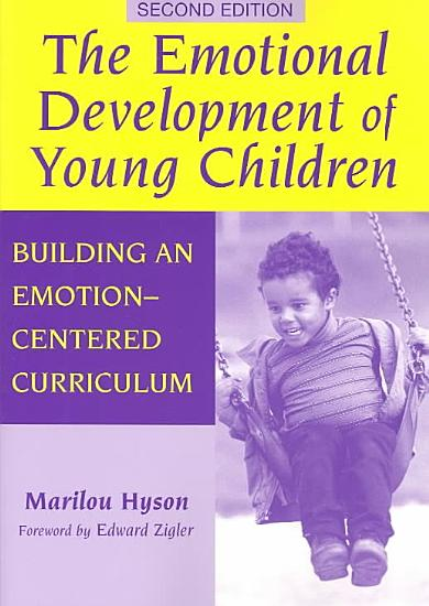 The Emotional Development of Young Children PDF