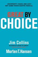 Great by Choice PDF
