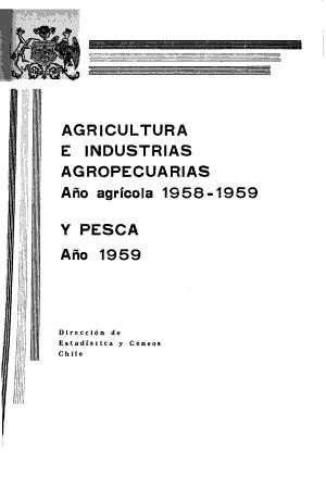 Agricultura e industrias agropecuarias y  pesca