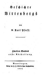 Geschichte Wirtenbergs