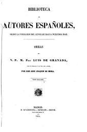 Obras del v. p. m. fray Luis de Granada: con un prólogo y la vida del autor