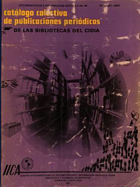 Catalogo Colectivo de Publicaciones Periodicas de Las Bibliotecas Del Cidia PDF