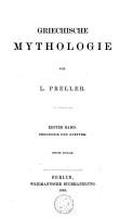 Griechische Mythologie  Theogonie und Goetter PDF