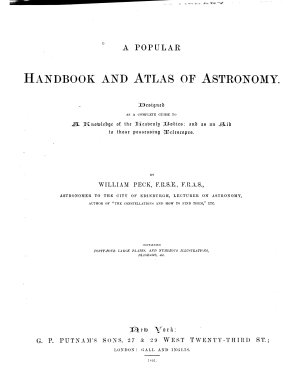 A Popular Handbook and Atlas of Astronomy PDF
